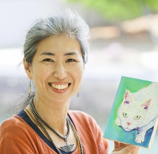 動物肖像画家&アニマルコミュニケーター 松尾由子様